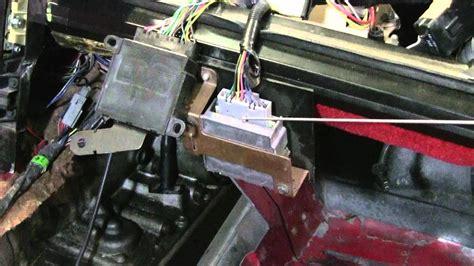 corvette cutaway anti theft vats mod youtube