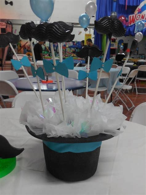 mustache party centerpieces mustache bash pinterest