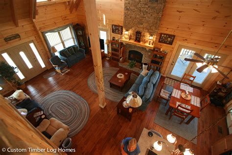 log cabin great room pictures great room in log cabin custom timber log homes