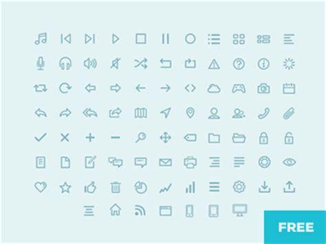 icons sketch freebie   resource