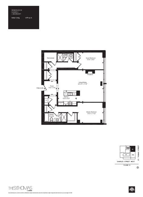 st thomas suites floor plan onestthomas floorplan 12 one st thomas at 1 st thomas st
