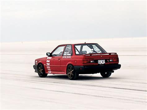 nissan sunny 1988 modified sentra b12 256 km h 400whp
