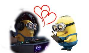 Cartoon minions they love the music wallpapers and images wallpapers