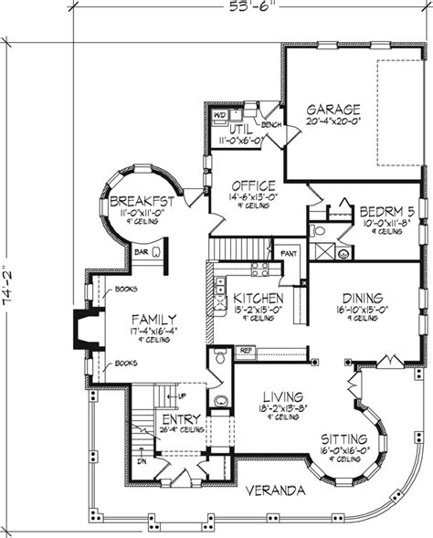 old victorian house floor plans kirkland old world home plan 072d 0995 house plans and more