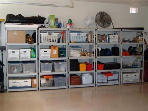 how to build a cheap garage storage system