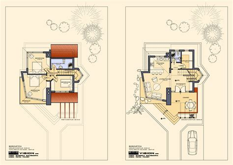 ski chalet house plans floor plans of lovely ski chalet to bansko