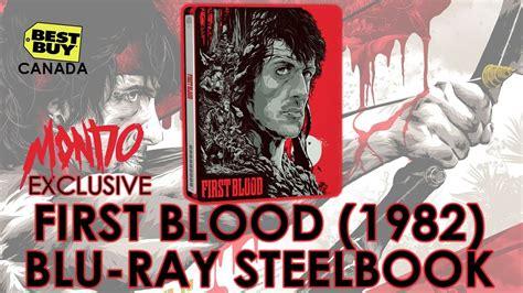 Rambo Blood Mondo Futureshop Exclusive Steelbok blood 1982 mondo x steelbook series 003 unboxing rambo sylvester