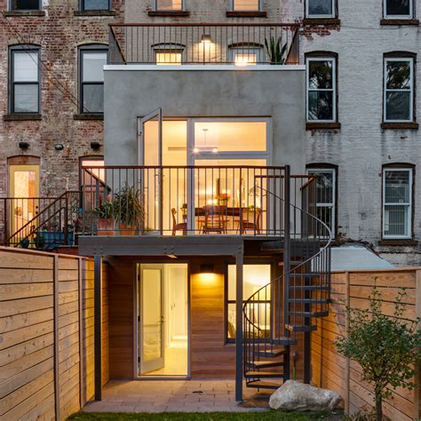 elite home design brooklyn barker freeman overhuals narrow brooklyn row house for a