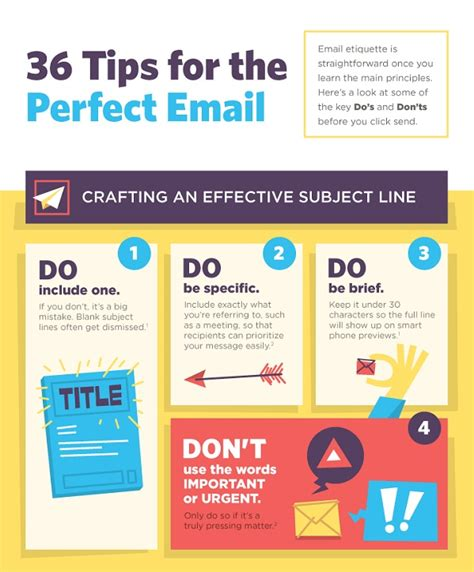 how to an overly friendly infographic 36 tips for drafting the email cool