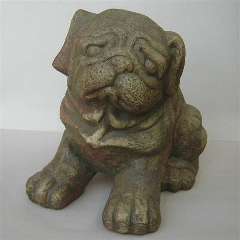 pug statues outdoor pug statue my pug collection pug collectibles pintere