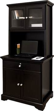 Microwave Furniture Cabinet Kitchen Armoire Hutch Storage Microwave Stand Wood Cabinet