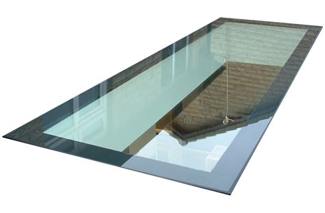 bespoke skylights structural glass design walk on