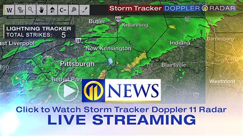 live weather radar map hourly forecast for pittsburgh pa wpxi