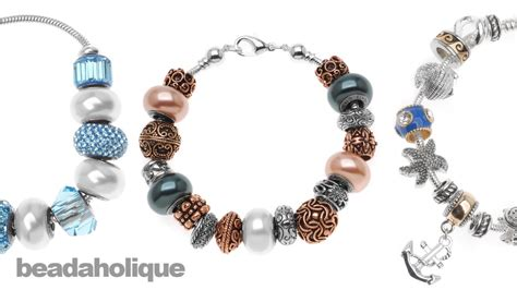 how to make an european style large bead bracelet