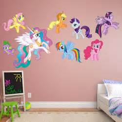 Pony Wall Stickers Wall Decal Cute My Little Pony Wall Decals My Little Pony