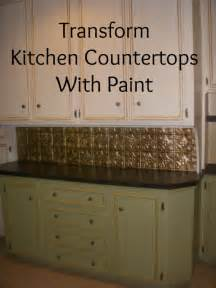 transform your laminate countertops with paint