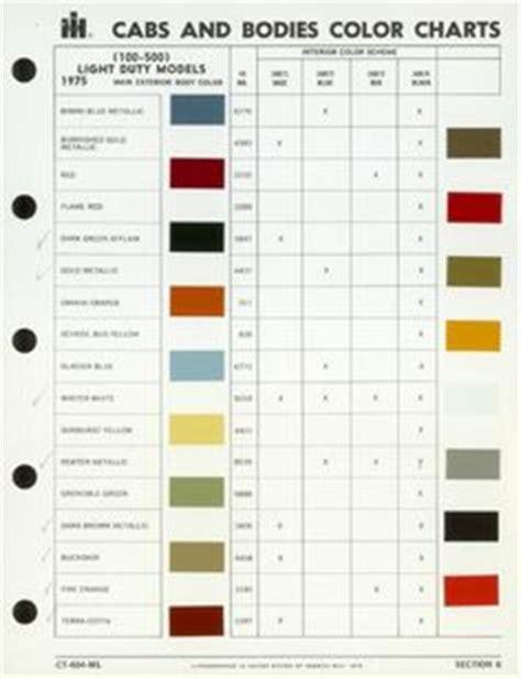 scout colors international scout paint colors international harvester