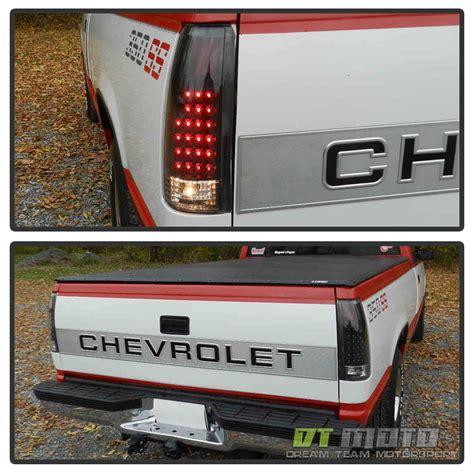1998 chevy silverado lights black 1988 1998 silverado c10 c k suburban tahoe