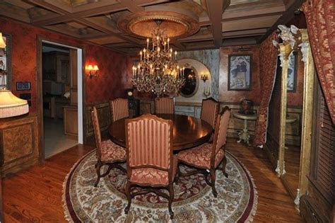 haunted mansion theme in dining room haunted hotel