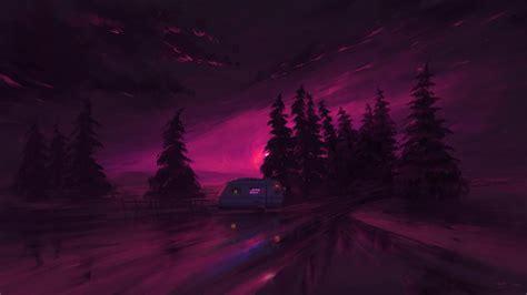 artistic purple night hd purple wallpapers hd wallpapers