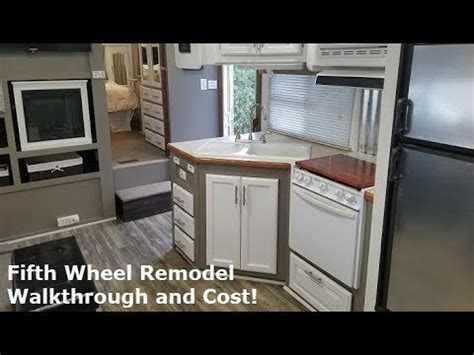 motorhome renovations interior omahdesigns net rv remodel on a budget rustic modern before and after