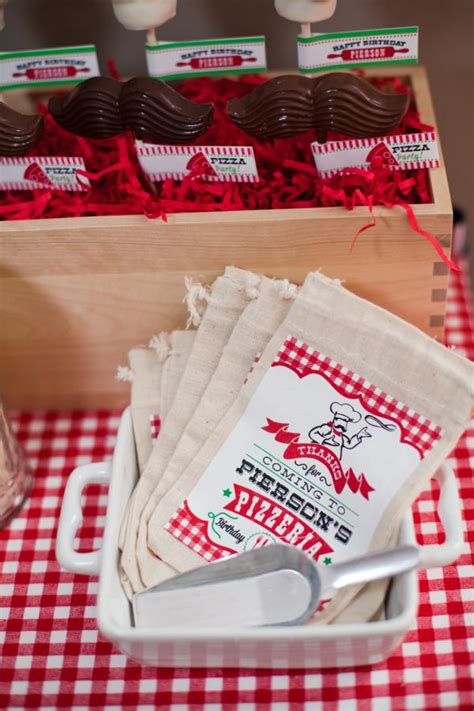 pizza party decorations pizza party table decor kids pizzeria little chef themed pizza party via kara s