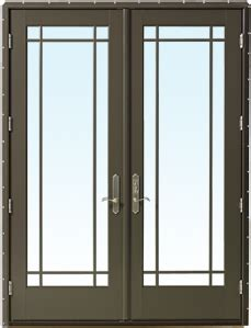 products weather shield hinged patio door
