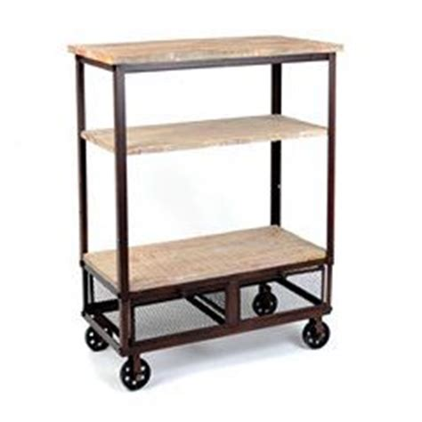 Three Shelf Rolling Cart by Rustic 3 Shelf Rolling Kitchen Cart Products Rolling