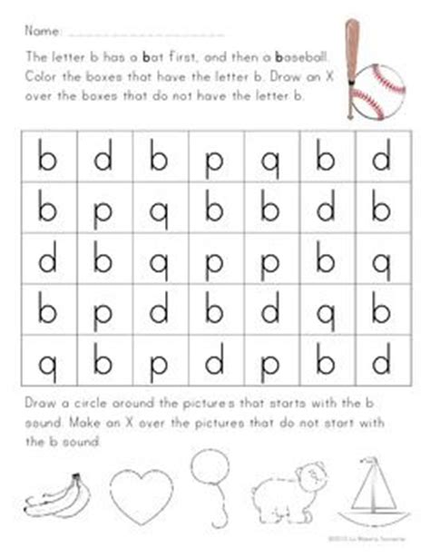 B And D Worksheets by B D P And Q Letter Reversal Practice A Well