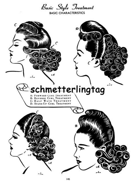 swing era hairstyles 59 best images about wwii girls on pinterest women s