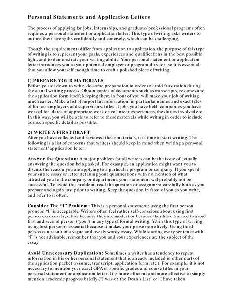 the best med school personal statement examples