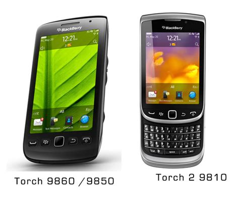 Blackberry Torch 2 Blackberry Torch 2 And 3 Launched As Torch 9810 And