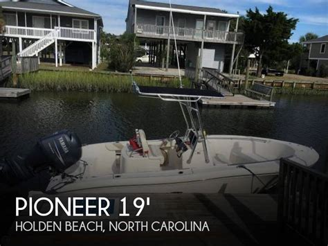 boats for sale in holden beach nc sold pioneer 197 sportfish boat in holden beach nc 114034