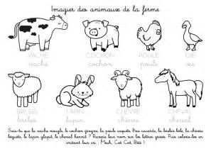 Coloriages Animaux De La Ferme Les Animaux