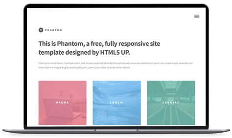 50 free responsive website templates built with bootstrap