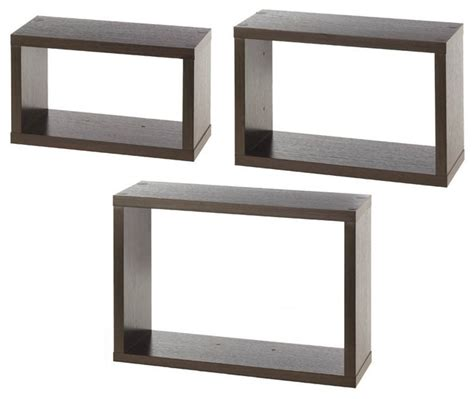 Rectangular Floating Shelf by Rectangular Floating Wall Cubes Display And Wall Shelves By Agm Home Store