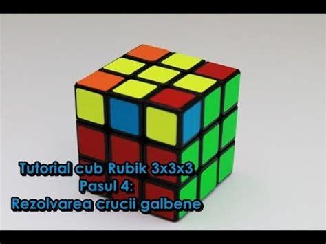 tutorial main rubik 3x3x3 tutorial cub rubik 3x3x3 pasul4 rezolvarea crucii