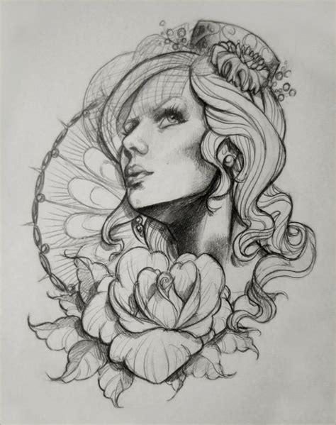 tattoo design sketchbook day of the dead designs design sketch 1 by
