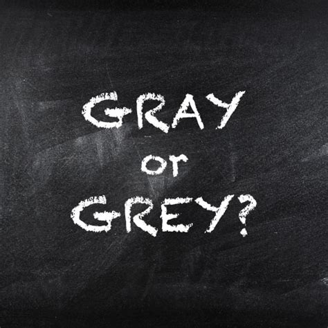 spelling of color gray gray or grey dictionary