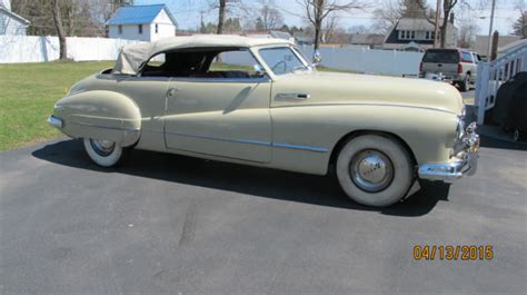 1948 buick roadmaster convertible for sale 1948 buick roadmaster convertible true barn find 37 000