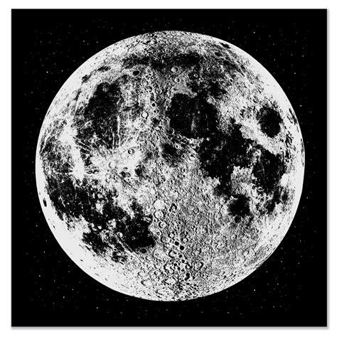 printable moon images moon print moon art print large silver moon print wall