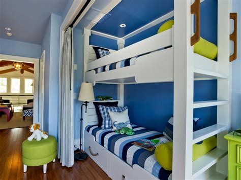 narrow bunk beds saving small and narrow kids room spaces with custom bunk