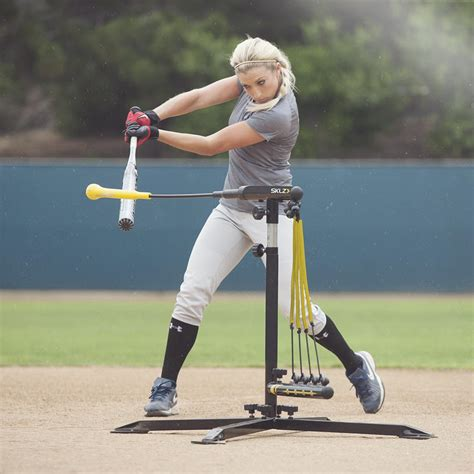 baseball power swing sklz hurricane category 4 batting trainer solo baseball