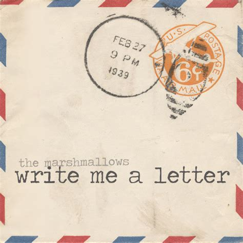 Wrote Me A Letter