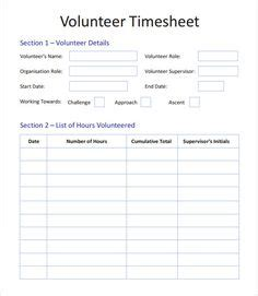 Volunteer Application Template 15 Free Word Pdf Documents Download Free Premium Free Volunteer Database Template