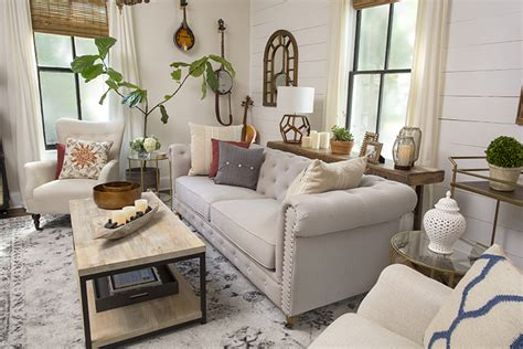 Farmhouse Chic Living Room by 10 Modern Farmhouse Living Room Ideas Housely