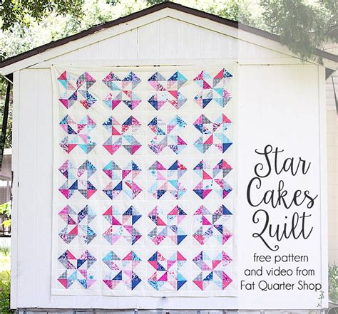 Free Quilt Patterns Lessons Free Clothing Patterns | star cakes quilt pattern free with a video tutorial from