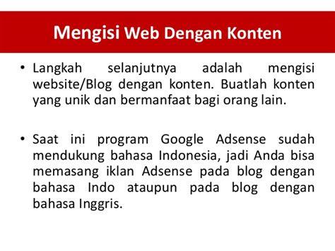 adsense pada blog bisnis google adsense kaya dari adsense