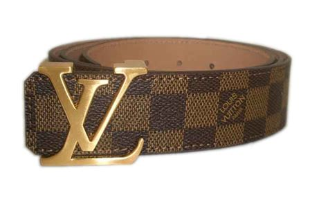 Jual Louis Vuitton Calf Leather Belt With Gold Buckle Mirror Quality 2 louis vuitton lv initiales reversible calf leather belt