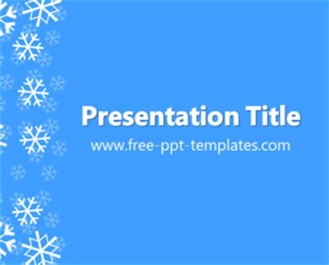 winter ppt template free powerpoint templates